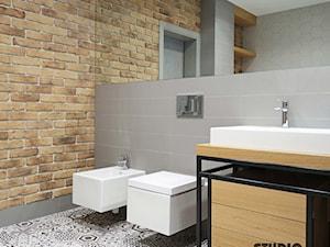 bathroom-industrial look - zdjęcie od MIKOŁAJSKAstudio