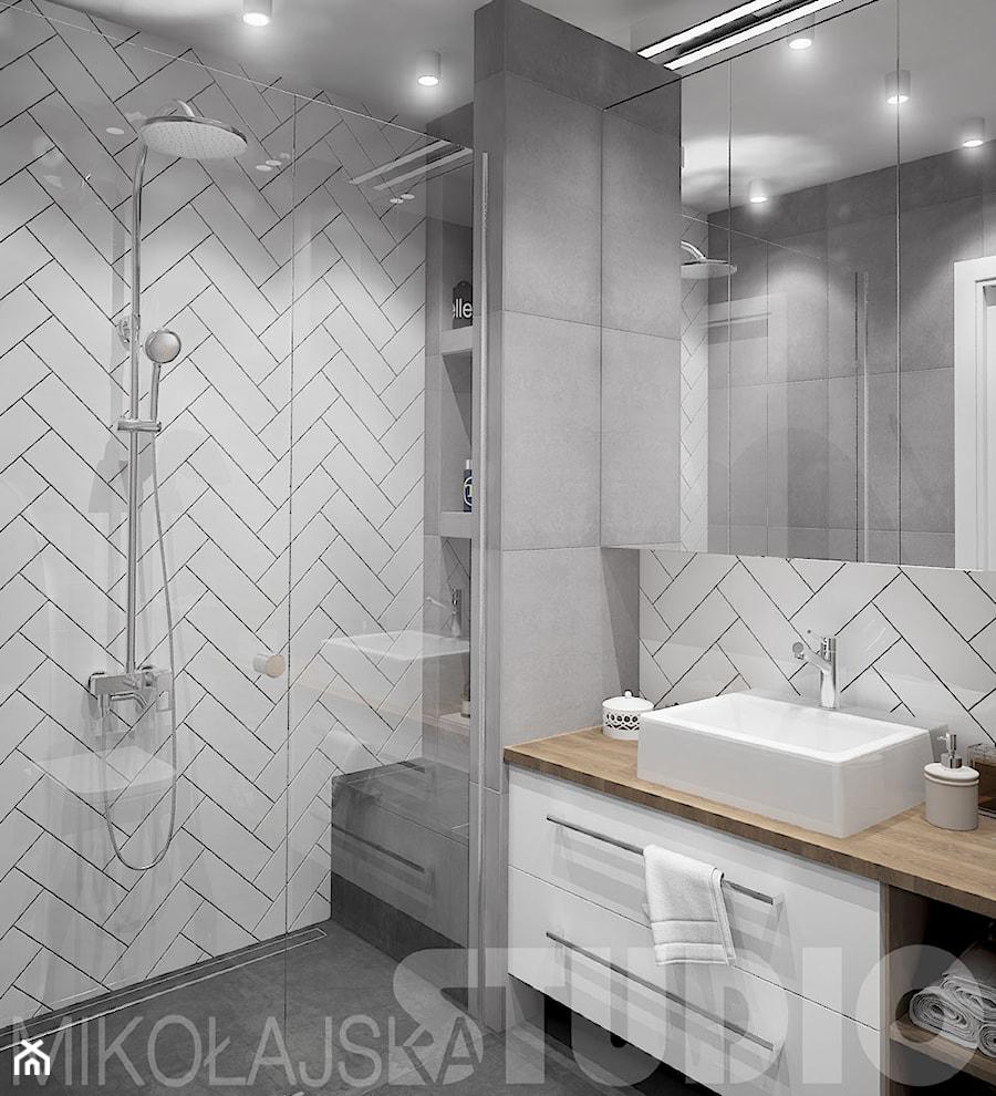 nowoczesna łazienka - zdjęcie od MIKOŁAJSKAstudio