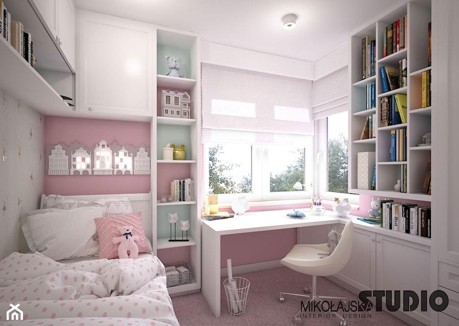 różowy pokój dziecęcy - zdjęcie od MIKOŁAJSKAstudio