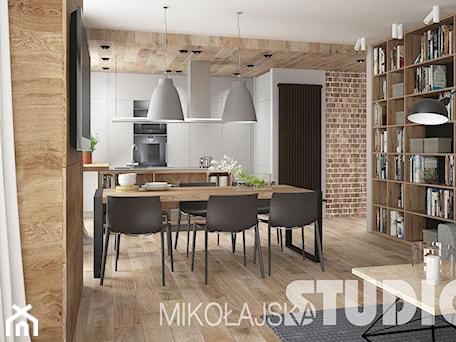 Aranżacje wnętrz - Kuchnia: Kuchnia w stylu industrialnym - MIKOŁAJSKAstudio. Przeglądaj, dodawaj i zapisuj najlepsze zdjęcia, pomysły i inspiracje designerskie. W bazie mamy już prawie milion fotografii!