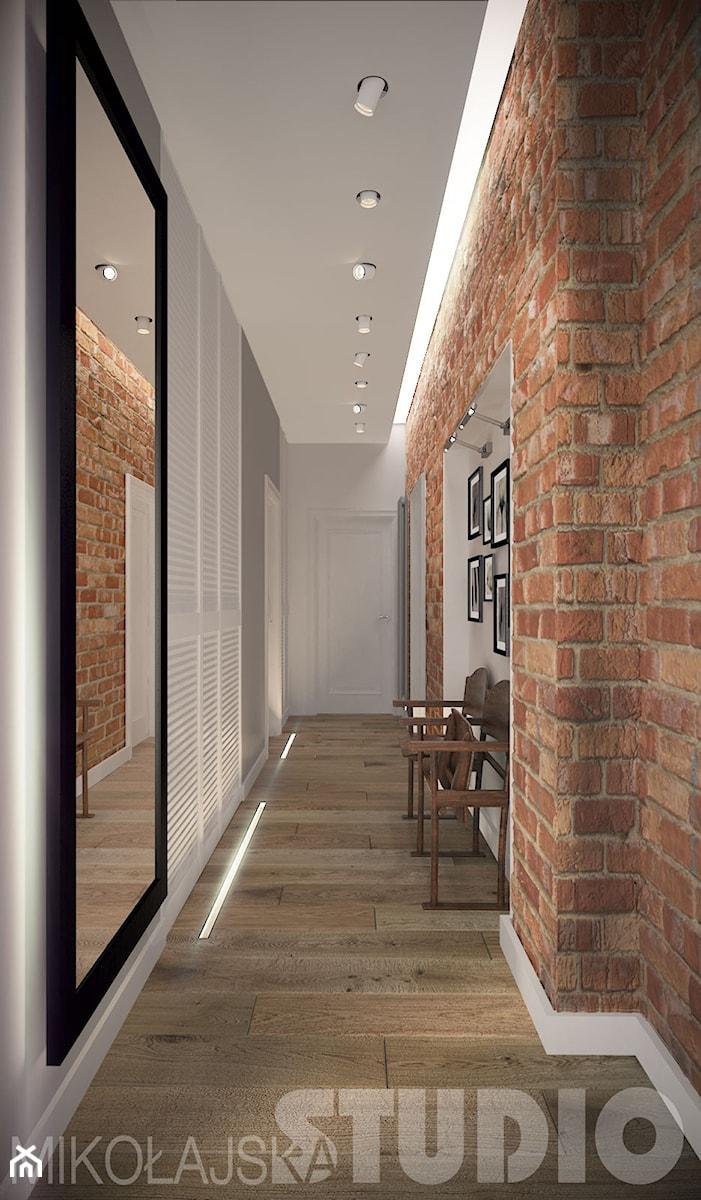 jak zaprojektować wąski korytarz - zdjęcie od MIKOŁAJSKAstudio