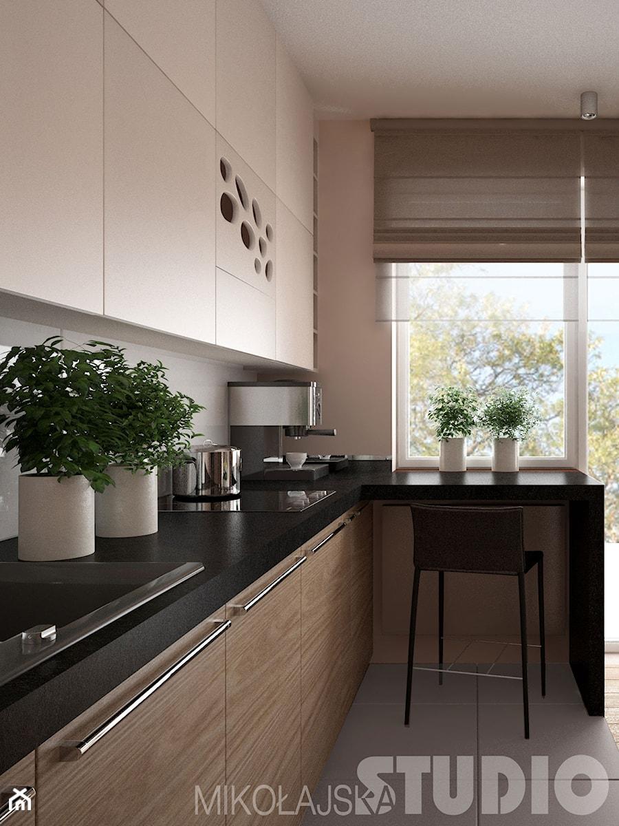 Bardzo mała kuchnia  zdjęcie od MIKOŁAJSKAstudio -> Kuchnia Mala Wąska