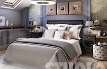 sypialnia na poddaszu - zdjęcie od MIKOŁAJSKAstudio