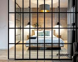 Sypialnia zza szkła - zdjęcie od MIKOŁAJSKAstudio