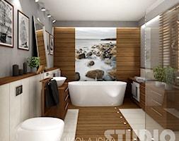 Łazienka w stylu kolonialnym - zdjęcie od MIKOŁAJSKAstudio