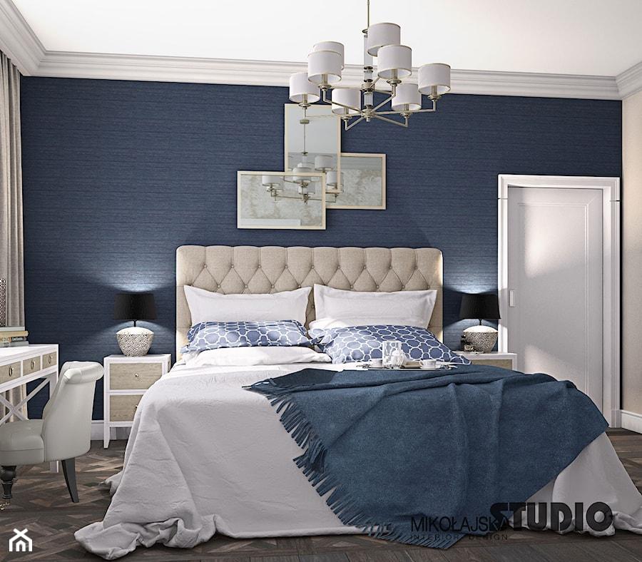 new york style bedroom - zdjęcie od MIKOŁAJSKAstudio