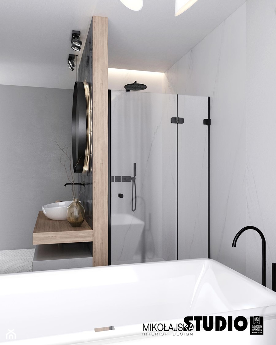 łazienka-prysznic - zdjęcie od MIKOŁAJSKAstudio