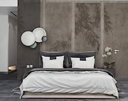 Dom w Rząsce - Sypialnia, styl nowoczesny - zdjęcie od MIKOŁAJSKAstudio - Homebook