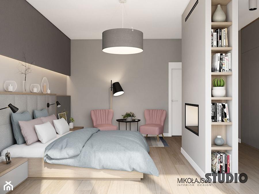 przytulna sypialnia - zdjęcie od MIKOŁAJSKAstudio - homebook