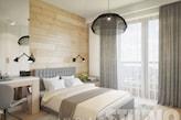 sypialnia w drewnie - zdjęcie od MIKOŁAJSKAstudio - homebook
