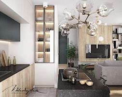 Dla Dwojga - Salon, styl nowoczesny - zdjęcie od MIKOŁAJSKAstudio - Homebook