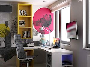 żółty akcent-pokój młodzieżowy - zdjęcie od MIKOŁAJSKAstudio