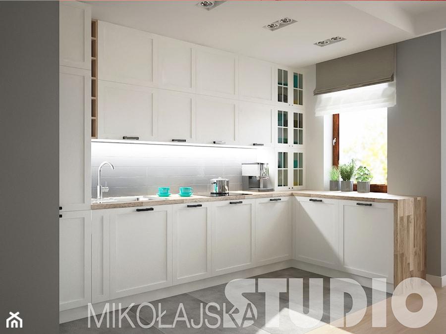 nowoczesna klasyczna kuchnia  zdjęcie od MIKOŁAJSKAstudi -> Kuchnia Plytki Vives