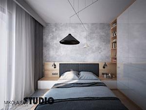 beton w sypialni - zdjęcie od MIKOŁAJSKAstudio