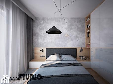 Aranżacje wnętrz - Sypialnia: beton w sypialni - MIKOŁAJSKAstudio. Przeglądaj, dodawaj i zapisuj najlepsze zdjęcia, pomysły i inspiracje designerskie. W bazie mamy już prawie milion fotografii!