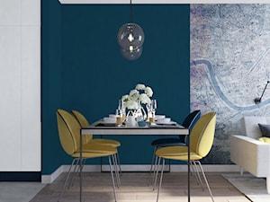 jadalnia-żółte krzesła - zdjęcie od MIKOŁAJSKAstudio