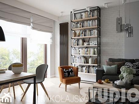Aranżacje wnętrz - Salon: loft-style-home - MIKOŁAJSKAstudio. Przeglądaj, dodawaj i zapisuj najlepsze zdjęcia, pomysły i inspiracje designerskie. W bazie mamy już prawie milion fotografii!