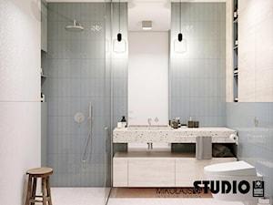 symetryczna łazienka - zdjęcie od MIKOŁAJSKAstudio
