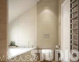 projekty wnętrz - łazienka - zdjęcie od MIKOŁAJSKAstudio