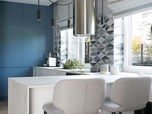 kuchnia błękitna - zdjęcie od MIKOŁAJSKAstudio