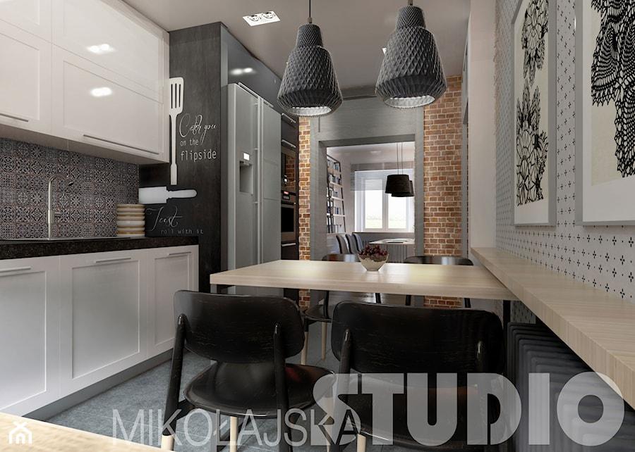 industrialna kuchnia  zdjęcie od MIKOŁAJSKAstudio