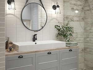 beautiful bathroom project - zdjęcie od MIKOŁAJSKAstudio