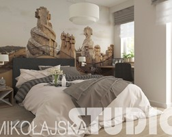 Natural colour bedroom - zdjęcie od MIKOŁAJSKAstudio