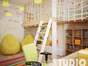 Pokój dzieciecy z antresolą - zdjęcie od MIKOŁAJSKAstudio