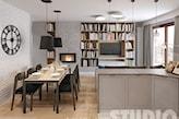 trudny układ mieszkania-projekt - zdjęcie od MIKOŁAJSKAstudio - Homebook