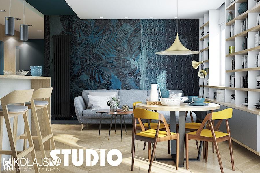 salon turkusowy zdj cie od miko ajskastudio homebook. Black Bedroom Furniture Sets. Home Design Ideas