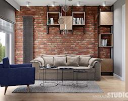 soft loft-ściana z cegły - zdjęcie od MIKOŁAJSKAstudio