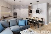 mieszkanie o trudnym układzie-projekt - zdjęcie od MIKOŁAJSKAstudio - homebook