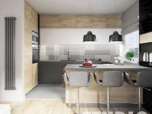 designed kitchen - zdjęcie od MIKOŁAJSKAstudio