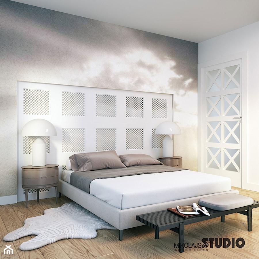 elegancka sypialnia - zdjęcie od MIKOŁAJSKAstudio