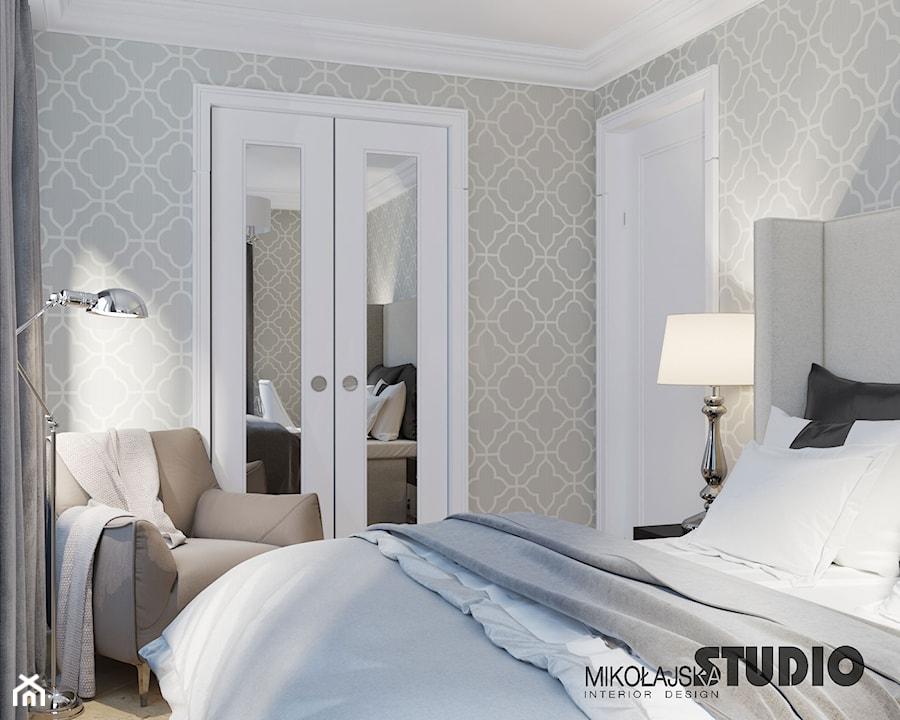 komfortowa sypialnia - zdjęcie od MIKOŁAJSKAstudio