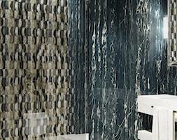 ciemna elegancka łazienka - zdjęcie od MIKOŁAJSKAstudio
