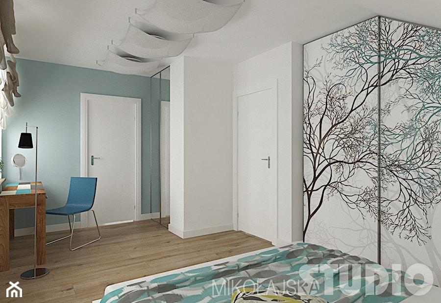 Sypialnia w stylu eklektycznym - zdjęcie od MIKOŁAJSKAstudio