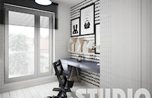 stylish childs room - zdjęcie od MIKOŁAJSKAstudio