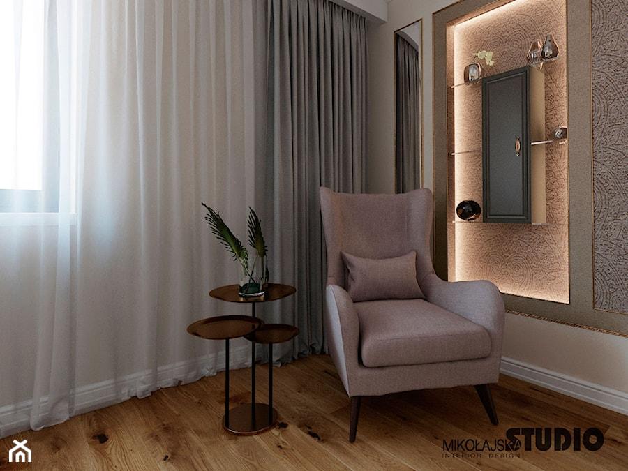 miejsce relaksu w sypialni - zdjęcie od MIKOŁAJSKAstudio