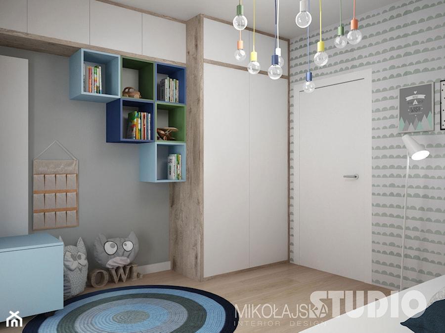 Pokój Chłopca Dziecka Dziecięcy Kolorowy Kolorowe Półki