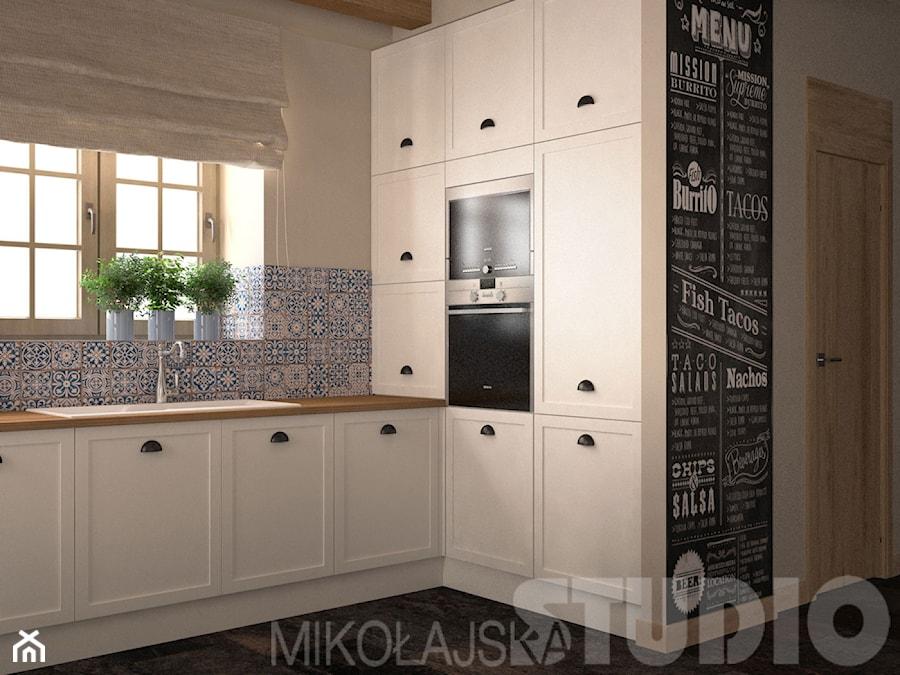 Kuchnia vintage  zdjęcie od MIKOŁAJSKAstudio -> Kuchnia Prowansalska Nowoczesna