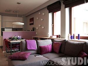 Mieszkanie we fioletach