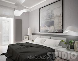 Designerska+sypialnia+-+zdj%C4%99cie+od+MIKO%C5%81AJSKAstudio