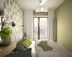 Sypialnia w stylu skandynawskim - zdjęcie od MIKOŁAJSKAstudio