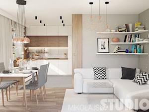 Jak funkcjonalnie urządzić niewielkie mieszkanie w bloku? Rozmowa z architekt Krystyną Mikołajską