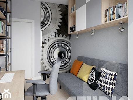 Aranżacje wnętrz - Biuro: loftowy-gabinet - MIKOŁAJSKAstudio. Przeglądaj, dodawaj i zapisuj najlepsze zdjęcia, pomysły i inspiracje designerskie. W bazie mamy już prawie milion fotografii!