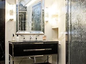 zlota łazienka-piękna szafka pod umywalkę - zdjęcie od MIKOŁAJSKAstudio