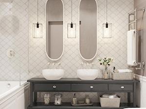klasyczna łazienka - zdjęcie od MIKOŁAJSKAstudio