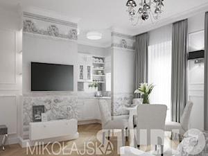 Mieszkanie w stylu glamour w kamienicy przy ul. Dietla w Krakowie