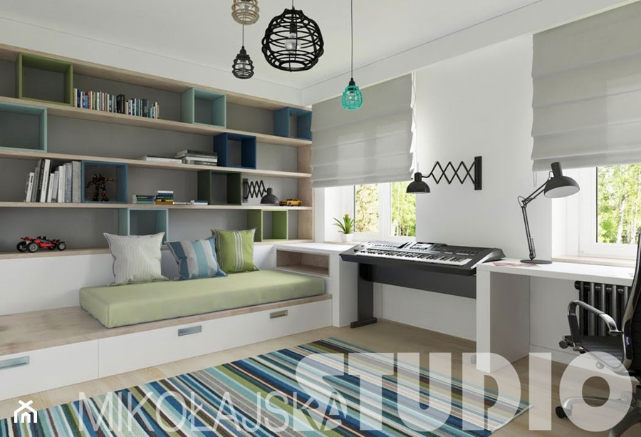 pok j dla ch opca zdj cie od miko ajskastudio homebook. Black Bedroom Furniture Sets. Home Design Ideas